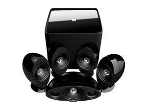 KEF KHT3005K2 KHT3005 (Black) Speaker System w/ Kube-2 Subwoofer
