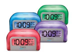 TIMEX Color Changing Alarm Clock T105WX