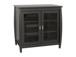 "TECH CRAFT SWD30B Up to 37"" Black 30"" Wide ""Tall Boy"" TV Stand"