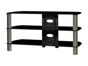 "TECH CRAFT BEL410B Up to 47"" Black 41"" Wide TV Stand"