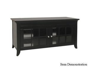 "TECH CRAFT CRE48B Up to 52"" Black 48"" Wide Credenza"