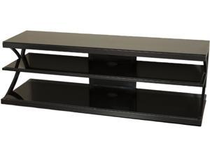 "TECH CRAFT NTR60 Up to 60"" Black TV Stand"
