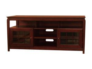 "TECH CRAFT BAY6028 Up to 65"" Walnut 60"" Wide Credenza"