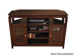 "TECH CRAFT BAY4632 Up to 48"" Walnut 46"" Wide ""Tall Boy"" Credenza"