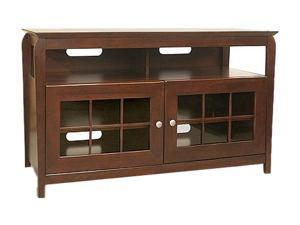 "TECH CRAFT BAY4828 Up to 50"" Wood A/V Entertainment Center"