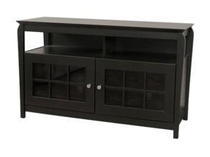 "TECH CRAFT BAY4828B Up to 52"" Black 48"" Wide Credenza"