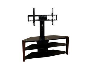 "TECH CRAFT FLEX42W Up to 50"" Black 44"" Wide TV Stand with Built-in Mount"
