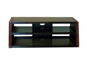 "TECH CRAFT WQF60 Up to 65"" Walnut 60"" Wide Flat Panel TV Stand"