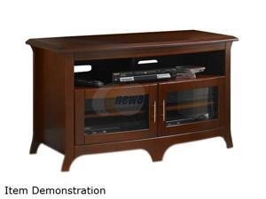 "TECH CRAFT EOS4828 Up to 50"" Walnut Curved Front Hi-Boy Credenza"