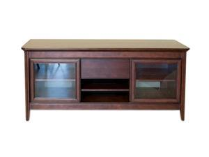 "TECH CRAFT NCL62 Up to 60"" Walnut Finish 62"" Wide Credenza"