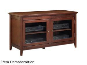"TECH CRAFT TCL5028 Up to 55"" Walnut 48"" Wide Hi-Boy Credenza"