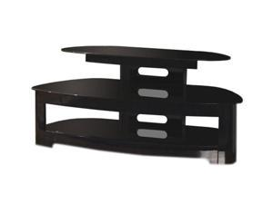"TECH CRAFT BW25125B Up to 50"" Black TV Stand"