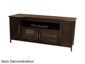 "TECH CRAFT SHK6428E Up to 70"" Espresso 64"" Wide ""Hi-Boy"" Credenza"