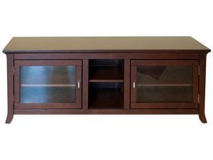 "TECH CRAFT PAL62 Up to 70"" Walnut Flat Panel Credenza"
