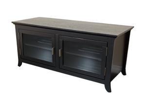 "TECH CRAFT PAL5022B Up to 55"" Black 50"" Wide Flat Panel Credenza"
