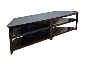 "TECH CRAFT BCE82 Up to 92"" Black 82"" Wide Flat Panel TV Stand"