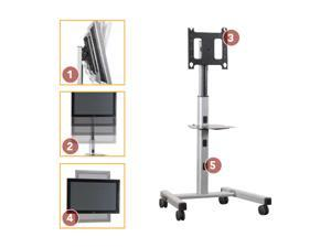 "CHIEF PFCUB 42"" - 71"" Black Large Flat Panel Mobile Cart"