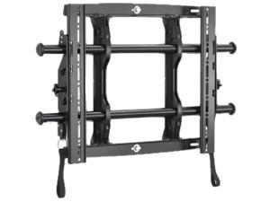 "CHIEF MTMU Black 26"" - 47"" Micro-Adjustable Tilt Wall Mount"