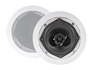 "PYLE PD-IC51RD 5.25"" Two Way In-Ceiling Speaker System"