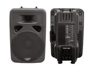 "PYLE PPHP-1298A 3 CH 800 Watt Powered 12"" Two-Way Plastic Molded Loudspeaker System"