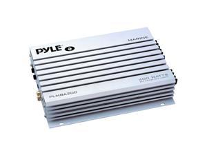 Pyle 2-Channel 400 Watt Bridgeable Waterproof Marine Amplifier