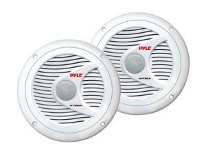 "PYLE 6.5"" 150 Watts Peak Power 2-Way White Marine Speaker"