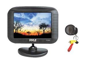 "PYLE PLCM35 3.5"" TFT LCD Monitor / Night Vision Rear View Camera Kit"