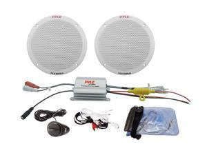 "Pyle 2 Channel Waterproof MP3/iPod Amplified 6.5"" Speaker"