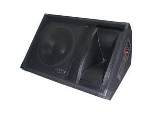 """PYLE 600 Watt 12"""" Two-Way Stage Monitor Speaker System PASC12"""
