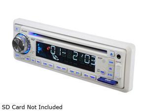 "Pyle PLCD8MRKT Marine CD Receiver w/ 2 Pair 6.5"" 150W Speakers (White)"