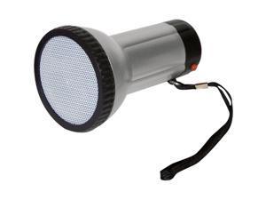 PYLE PMP10 Silver Mini Handheld Megaphone Bull Horn Voice Amplifier