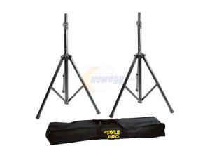 PylePro PSTK103 Dual Speaker Stand with Traveling Bag Kit