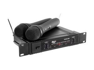 PylePro PDWM2600 Dual UHF Wireless Microphone System