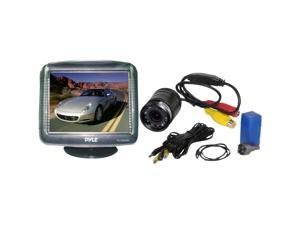 "PYLE  PLCM35R  3.5"" TFT LCD Monitor / Night Vision Rear-View Camera"
