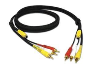 C2G Model 29155 25 feet RCA Composite + S-Video Cable M-M