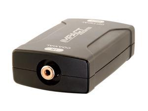 C2G 40018 Coaxial to TOSLINK Optical Digital Audio Converter