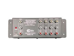 C2G 41066 AV400 4-Output RCA Audio/Video Distribution Amplifier