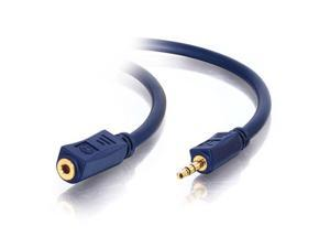 C2G 40611 50 ft Velocity 3.5mm Stereo Audio Extension Cable M-F