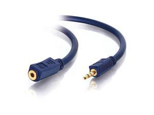 C2G 40607 3 ft. Velocity 3.5mm M/F Stereo Audio Extension Cable