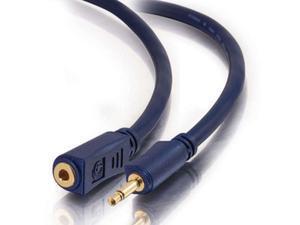 C2G Velocity 3.5mm Mono Audio Extension Cable