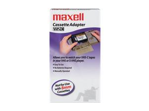 maxell 290060 VHS-C to VHS Cassette Adapter