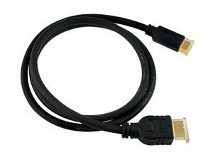 Insten 675826 3 ft. HDMI to Mini HDMI Cable Type A to Type C, M/M