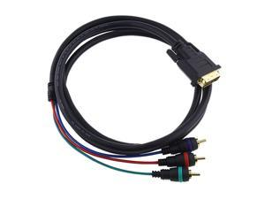 Insten 675671 6 ft. DVI-I to 3 RCA Component RGB Cable