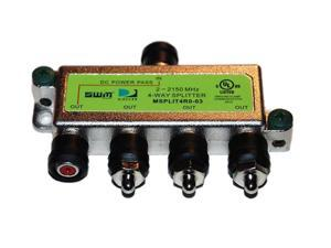 DIRECTV SPLIT4MRV Satellite 4-Way Wide Band MRV Compatible Splitter (2 -2150 MHz)