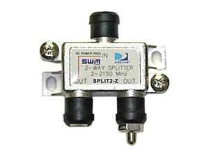DIRECTV SPLIT2 SWM 2 Way Splitter 2-2150 Mhz 1 Port Power Passing With Weather Boot