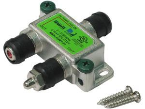 SPLIT2MRV Swm 2 Way Splitter 2-2150 Mhz 1 Port Power Passing Weather Seal & Terminators