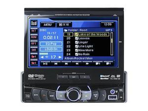 "Dual In-Dash Navigation / DVD Head Unit W/ 7"" Touch Screen Model XDVDN9131"