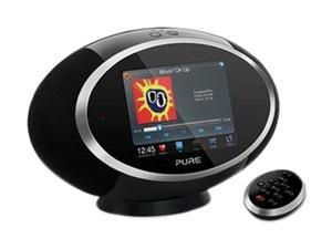 Pure Sensia 200D Connect Portable Music Streaming and Radio System, Black VL-61793