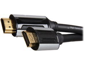 Spider E-HDMI-0006 6 ft. Black E-series High Speed HDMI® Cable with Ethernet M-M