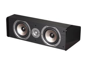 Polk Audio CS20 Black Center Speaker Single